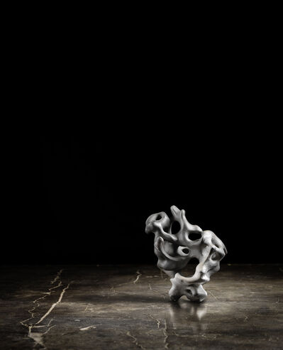 Zhao Meng 趙夢, 'Clay Lingbi Stone in Palm #3', 2015
