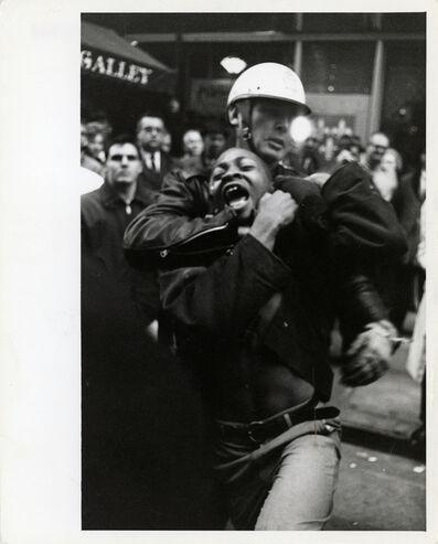 Danny Lyon, 'The Arrest of Taylor Washington, Lebs Restaurant, Atlanta', 1963
