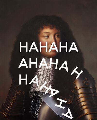 Shawn Huckins, 'Louis XIV, Flaccid Laughter', 2019