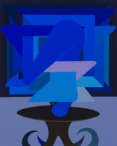 Richard Colman, 'Figure As Object, (Blue)', 2018