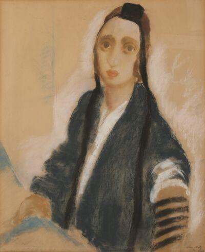 Mané-Katz, 'A Young Boy with Tefillin', 1926