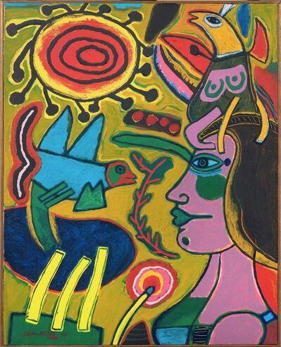Corneille, 'Profil de femme au colour de l'été ', 1994