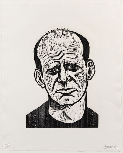 Robert Arneson, 'Jackson Pollock, from Five Guys', 1983
