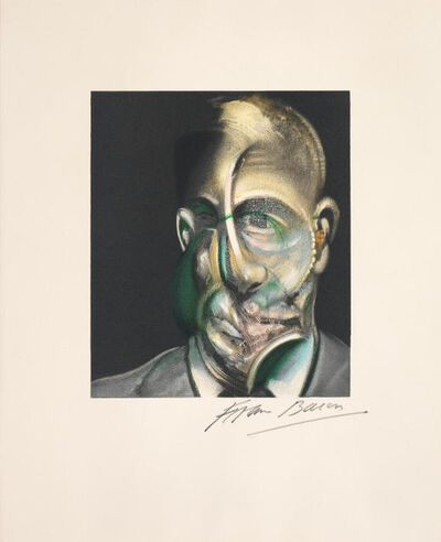 Francis Bacon, 'Portrait of Michel Leiris', 1990