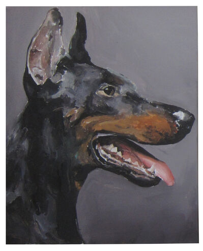 Santiago Ydañez, 'Untitled (Doberman 1)', 2014