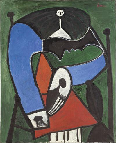 Pablo Picasso, 'Femme assise dans un fauteuil', October 24-1948