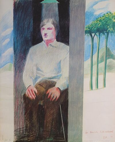 David Hockney, 'Prisoner', 1975