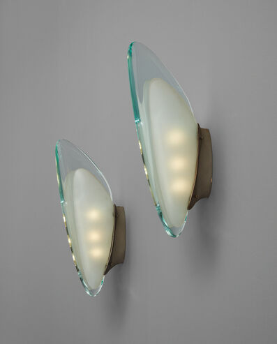Max Ingrand, 'Pair of wall lights, model no. 1552', circa 1957