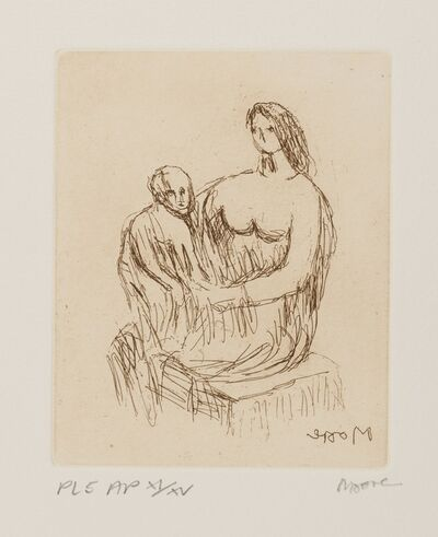 Henry Moore, 'Mother and Child (Cramer 705)', 1983