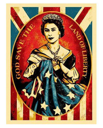 Shepard Fairey, 'God Save the Queen', 2012