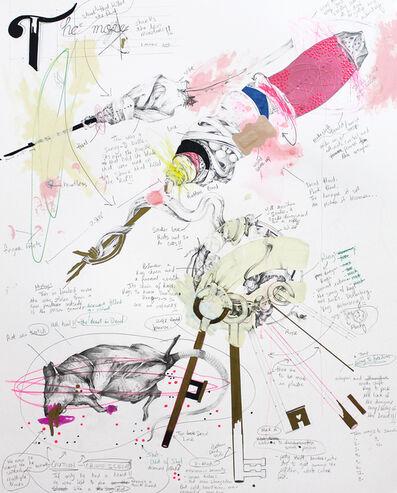 Lavar Munroe, 'Rat, Shit, Keys, Two Shanks', 2014
