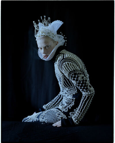 Tim Walker, 'Kristen McMenamy. Fashion Balmain. Headpiece , crown and collar by Julian d'Y's. Eglingham Hall, Northumberland', 2012