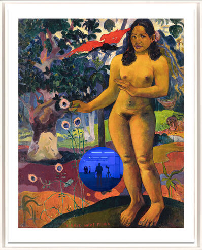 Jeff Koons, 'Gazing Ball (Gauguin Delightful Land)', 2017