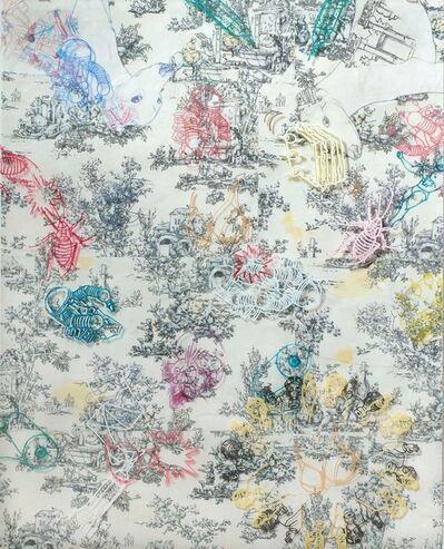 Barbara Strasen, 'Biddles Toile', 2012