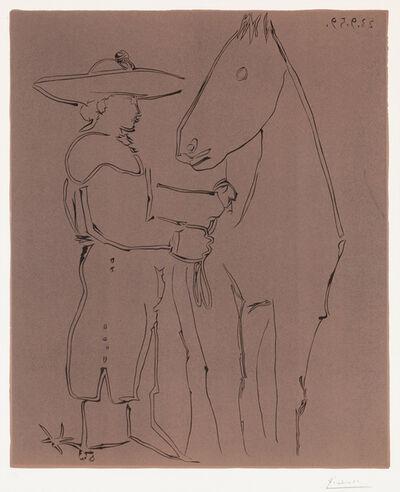 Pablo Picasso, 'Picador et cheval (Picador and Horse), 1959', 1959