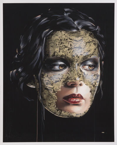 Sandra Chevrier, 'Tears Sting In His Eyes For Her World', 2014