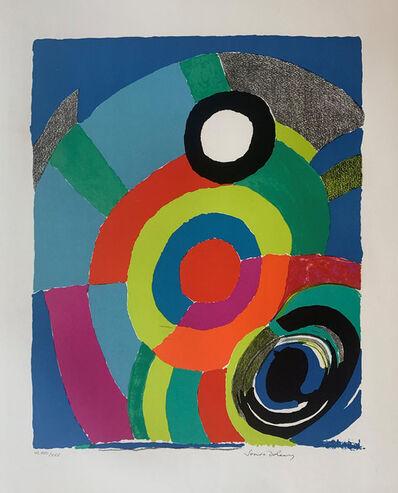 Sonia Delaunay, 'Thunderbird', 1973