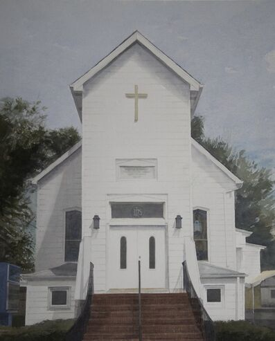 Mario A. Robinson, 'Second Baptist Church', 2013
