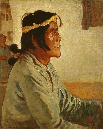 Lafayette Maynard Dixon, 'Namoki, Hopi Snake Priest', 1923