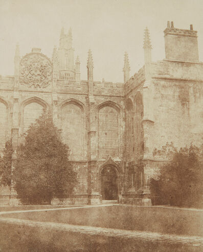 William Henry Fox Talbot, 'All Souls College Chapel, Oxford', 1840s
