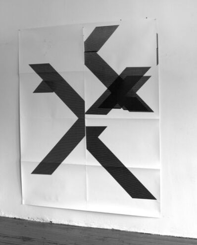 Wade Guyton, 'X Poster (Untitled, 2007, WG1210)', 2018