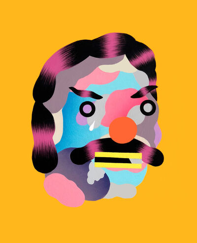 Grip Face, 'Masks of the millennial genertaion #04', 2018