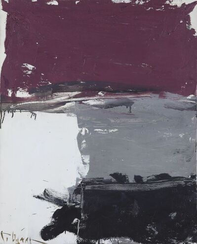Huang Rui, 'Purple No.4', 1991