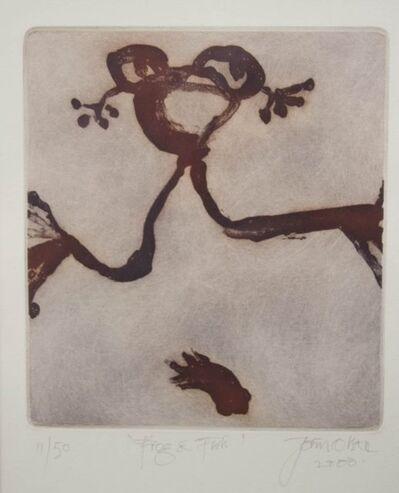 John Olsen, 'Frog and Fish', 2000