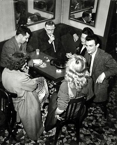 Georges Dudognon, 'Jean Paul Sartre, Simone de Beauvoir and Friends', ca. 1960