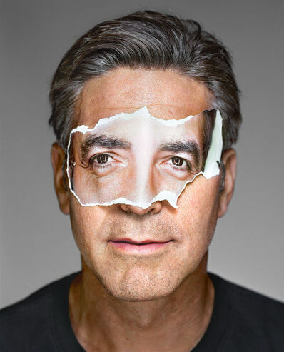Martin Schoeller, 'George Clooney with Mask, Brooklyn', 2008