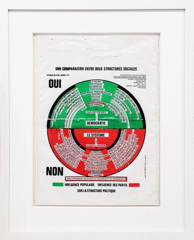 Joseph Beuys, 'Oui-Non. So kann die Parteiendiktatur überwunden werden', 1971