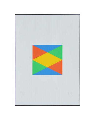 Max Bill, 'Geométrico II', 1989