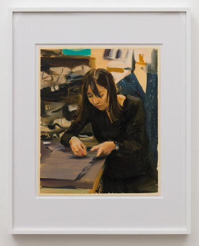 Caroline Walker, 'Study for Ming Hui', 2019
