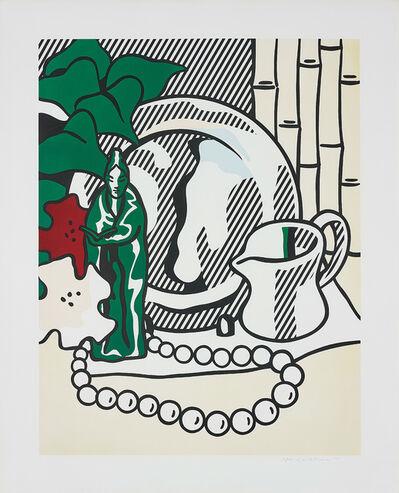 Roy Lichtenstein, 'Still Life with Figurine, from Six Still Lifes Series', 1974
