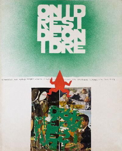 Alighiero Boetti, 'Ordine disordine', 1980