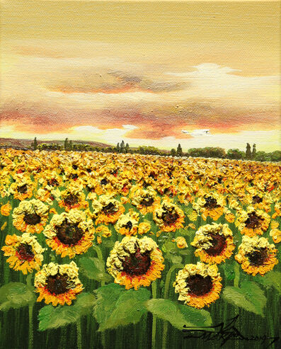 Mario Jung, 'Sunflower Heat', 2018