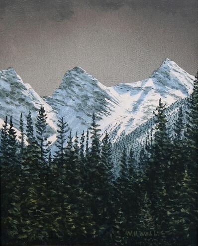 W.H. Webb, 'Three Sisters Through The Trees'