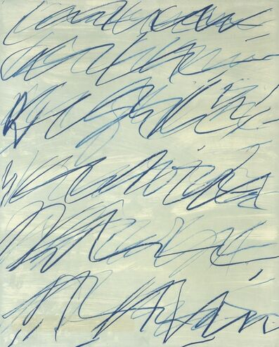 Cy Twombly, 'ROMAN NOTES I', 1970