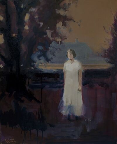 David Storey, 'Autumn Figure 1'