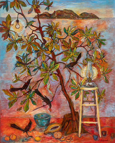 Kim Osgood, 'Tree of Life, Evening Light', 2019