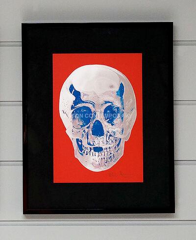 Damien Hirst, 'Skull, Red/Blue', 2012