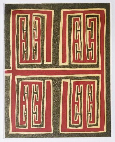 James Siena, 'Untitled (Christmas Print)', 2006