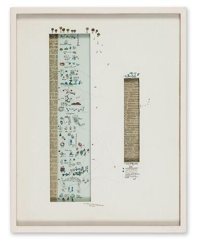 Gianfranco Baruchello, 'La lega del cane è ente morale', 1965