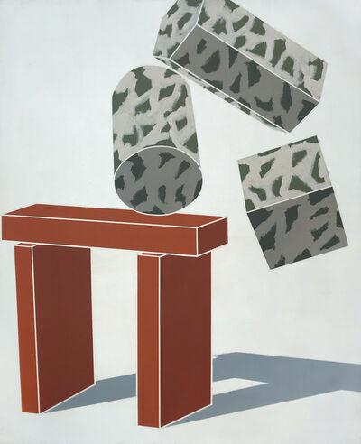 Emilio Tadini, 'Paesaggio Occidentale / Western Landscape', 1970