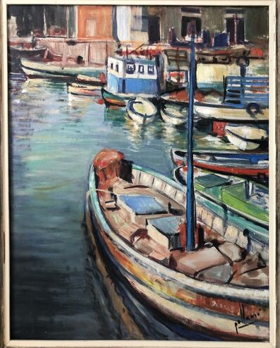 Eliseo Gallemi, 'Boat on the water', ca. 1980