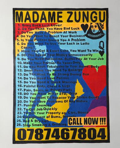 Cameron Platter, 'Madame Zungu', 2012