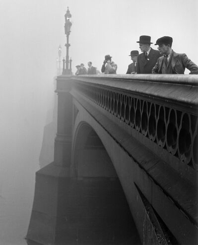 Wolfgang Suschitzky, 'Westminster Bridge, London', ca. 1930