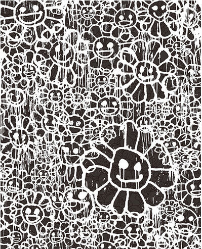 Takashi Murakami, 'FLOWERS B BLACK BY MADSAKI X TAKASHI MURAKAMI', 2017