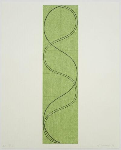 Robert Mangold, 'Green Column/Figure', 2003