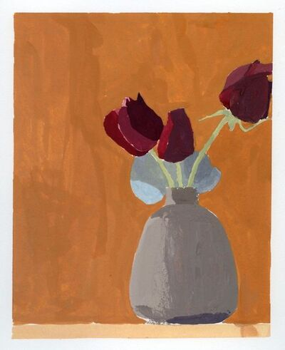 Sydney Licht, 'Still Life with Gray Vase #2', ca. 2015